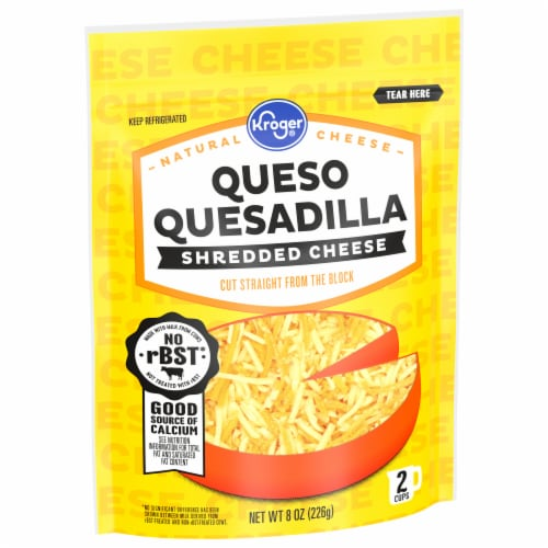 Kroger® Shredded Queso Quesadilla Cheese Perspective: front