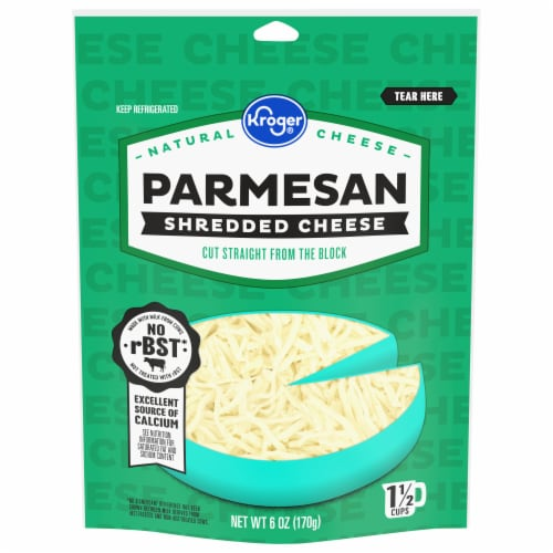 Kroger® Shredded Parmesan Cheese Perspective: front