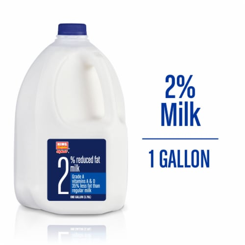 King Soopers City Market® 2% Reduced Fat Milk Perspective: front