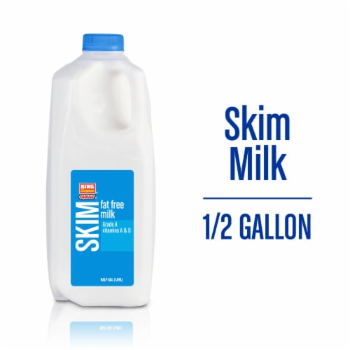 King Soopers™ City Market Fat Free Skim Milk Perspective: front