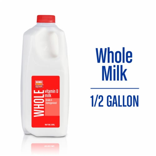 King Soopers City Market Vitamin D Whole Milk Perspective: front
