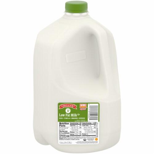 King Soopers City Market™ Organic 1% Lowfat Milk Perspective: front
