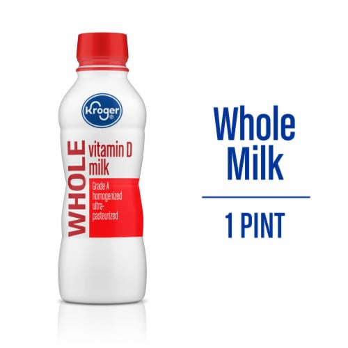 Kroger®  Vitamin D Whole Milk Perspective: front