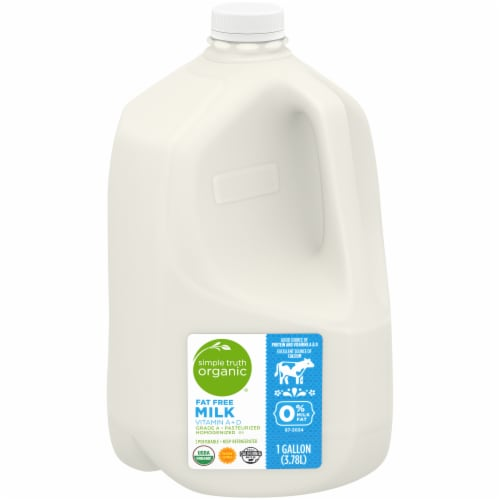 Simple Truth Organic® Skim Fat Free Milk Perspective: front