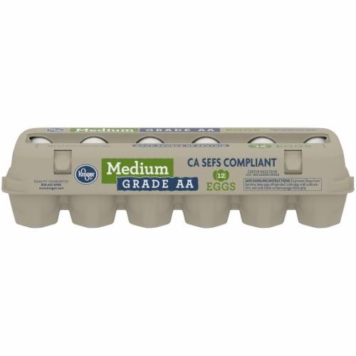 Kroger® Grade AA Medium Eggs Perspective: front