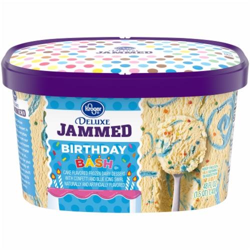 KrogerR Deluxe Jammed Birthday Bash Ice Cream