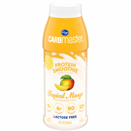Kroger® CarbMaster® Tropical Mango Protein Smoothie Perspective: front