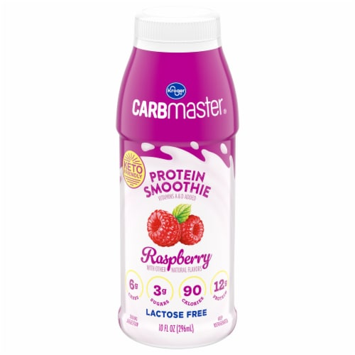 Kroger® CarbMaster® Raspberry Protein Smoothie Perspective: front