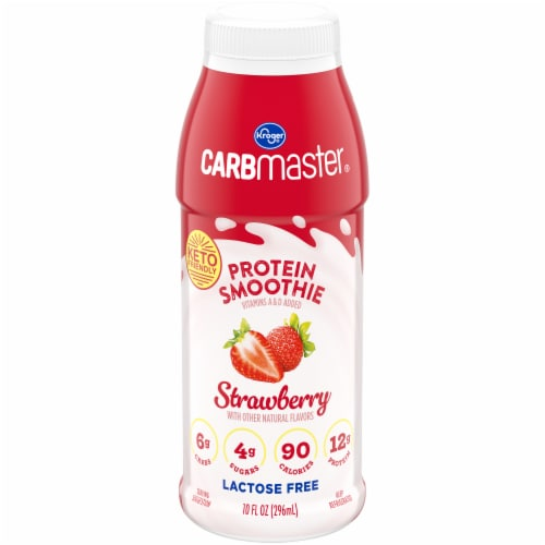 Kroger® CarbMaster® Strawberry Protein Smoothie Perspective: front