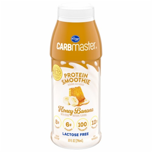 Kroger® CarbMaster® Honey Banana Protein Smoothie Perspective: front