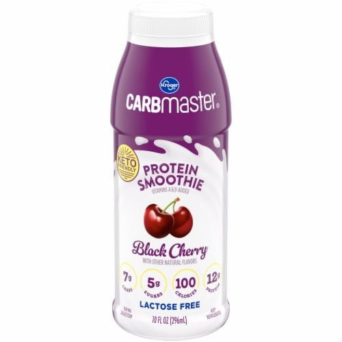 Kroger® CarbMaster® Black Cherry Protein Smoothie Perspective: front