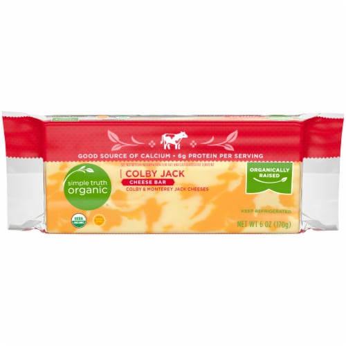 Simple Truth Organic® Colby Jack Cheese Bar Perspective: front
