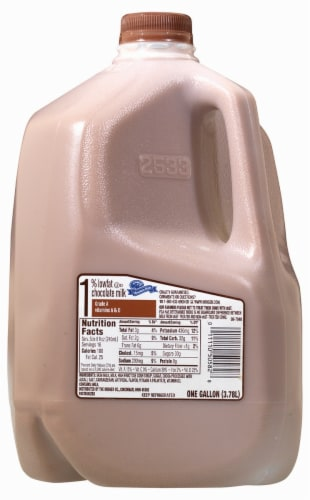 Mountain Dairy™ 1% Low Fat Chocolate Milk Perspective: front