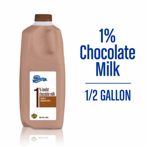 Mountain Dairy Chocolate Milk Perspective: front