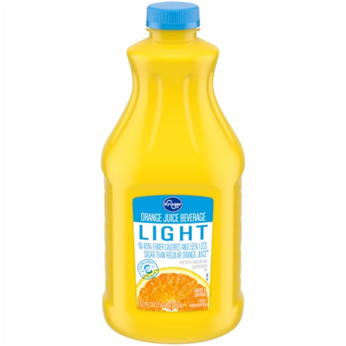 Kroger® Lite Orange Juice Beverage Perspective: front