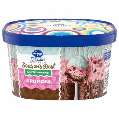 Kroger® Deluxe Spumoni Ice Cream Perspective: front