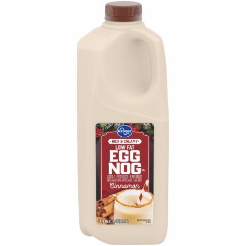 Kroger® Cinnamon Low Fat Egg Nog Perspective: front