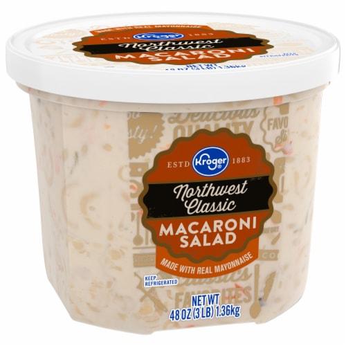 Kroger® Traditional Macaroni Salad Perspective: front