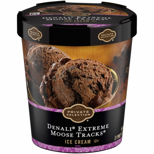 Private Selection® Denali® Extreme Moose Tracks® Ice Cream Perspective: front