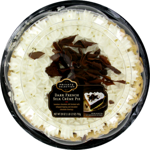 Private Selection™ Dark French Silk Creme Pie Perspective: front