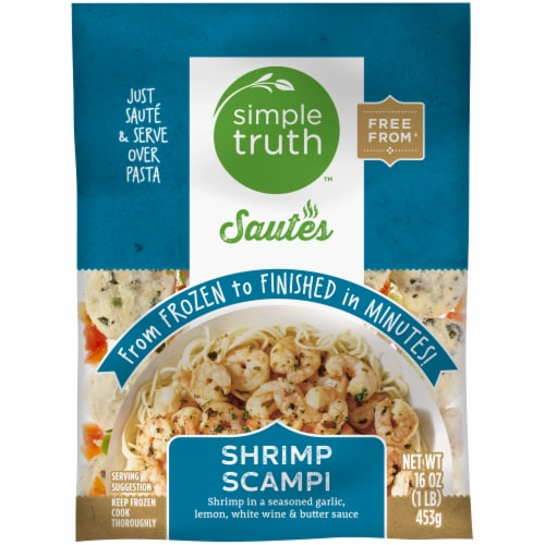 Simple Truth™ Sautes Shrimp Scampi Frozen Meal Perspective: front