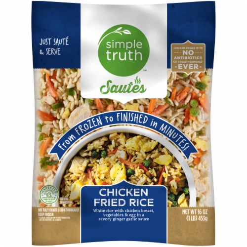 Simple Truth™ Sautes Chicken Fried Rice Perspective: front