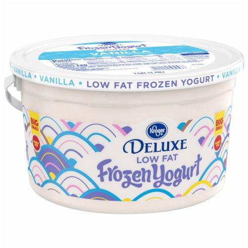 Kroger® Vanilla Low Fat Frozen Yogurt Family Size Perspective: front