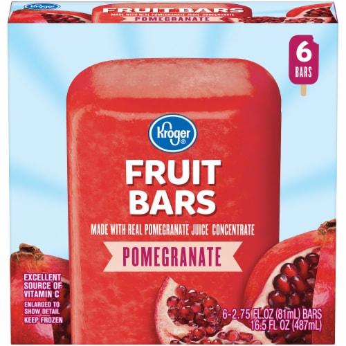 Kroger® Pomegranate Fruit Bars Perspective: front