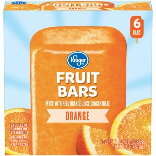 Kroger® Orange Fruit Bars Perspective: front