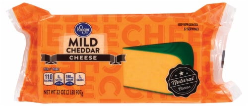 Kroger® Mild Cheddar Cheese Bar Perspective: front