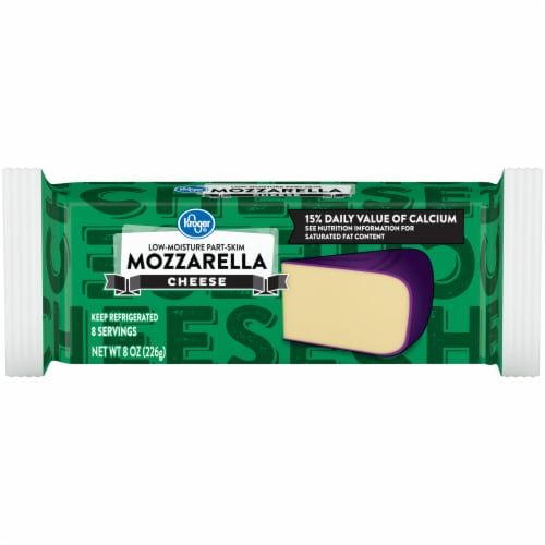 Kroger® Mozzarella Cheese Bar Perspective: front