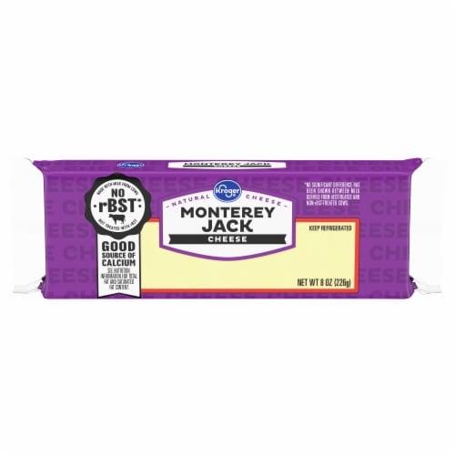 Kroger® Monterey Jack Cheese Block Perspective: front