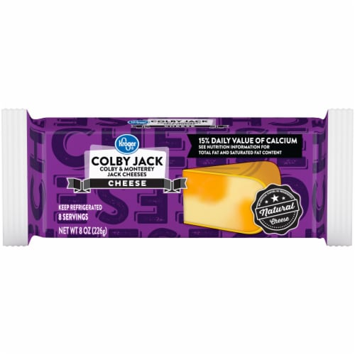 Kroger® Colby Jack Cheese Bar Perspective: front