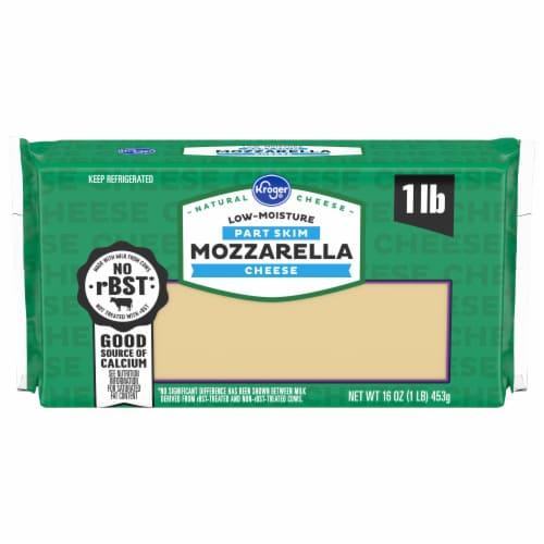 Kroger® Low-Moisture Mozzarella Cheese Block Perspective: front