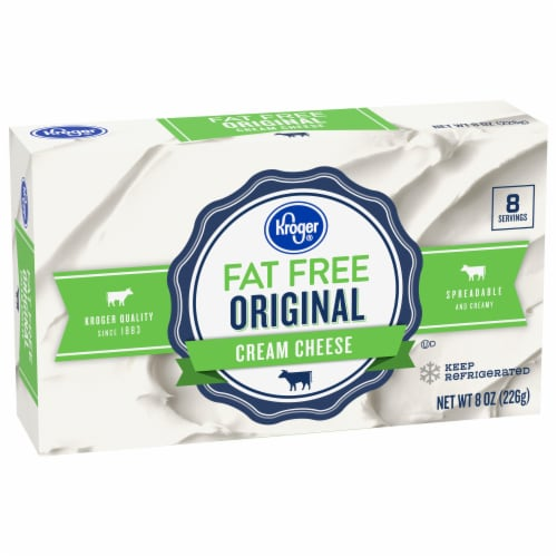 Kroger® Fat Free Original Cream Cheese Perspective: front