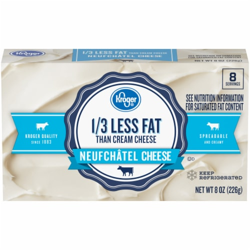 Kroger® Neufchatel Low Fat Cheese Perspective: front