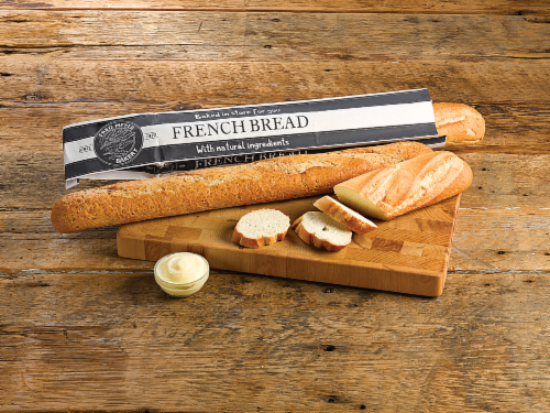 Bakery Fresh Goodness White Baguette Bread Perspective: front