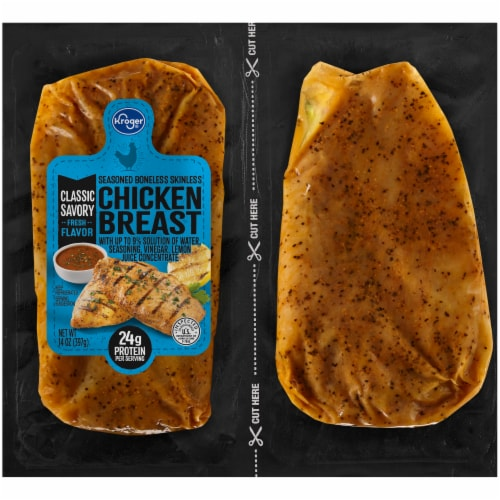 Kroger® Chargrilled Chicken Breast Perspective: front