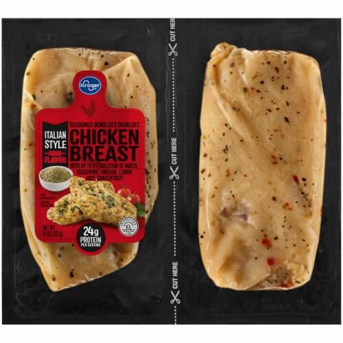 Kroger® Italian Chicken Breast Perspective: front