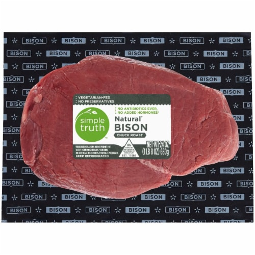 Simple Truth™ Natural Bison Chuck Roast Perspective: front