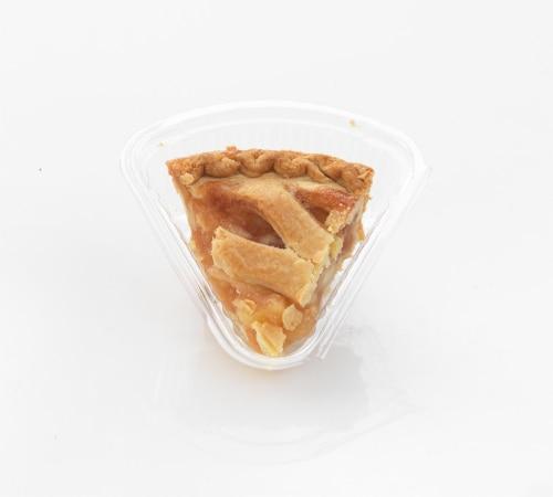 Private Selection Apple Lattice Pie Slice Perspective: front