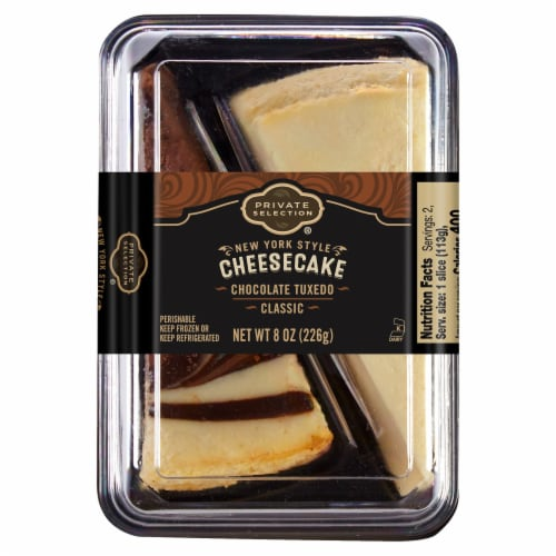 Private Selection® Tuxedo Cheesecake Slices Perspective: front
