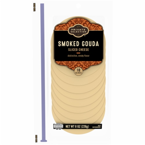 Private Selection™ Smoked Gouda Sliced Cheese Perspective: front