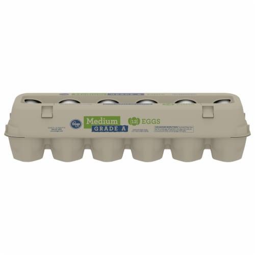 Kroger® Grade A Medium Eggs Perspective: front