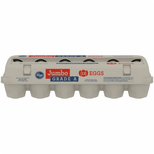 Kroger® Grade A Jumbo Eggs Perspective: front