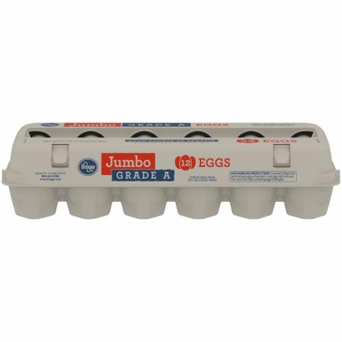 Kroger® Grade A Jumbo Eggs Perspective: front