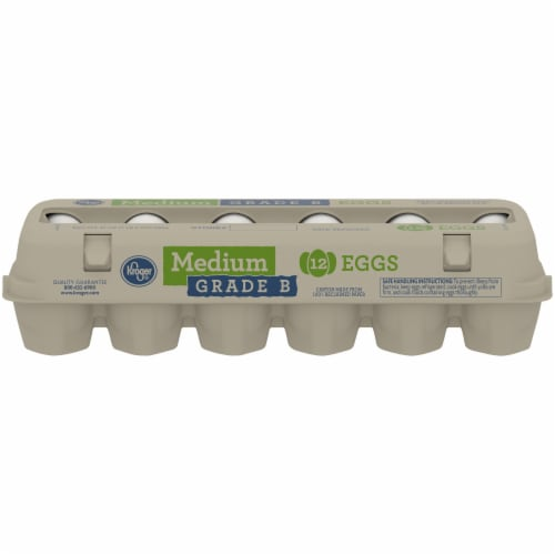 Kroger® Grade B Medium Eggs Perspective: front