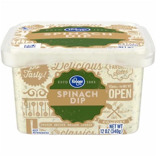 Kroger Kroger Spinach Dip 12 Oz