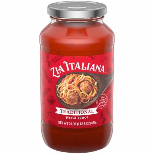 Zia Italiana™Traditional Pasta Sauce Perspective: front