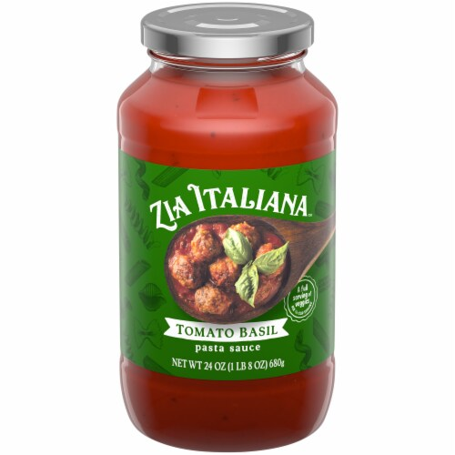 Zia Italiana Tomato Basil Pasta Sauce Perspective: front
